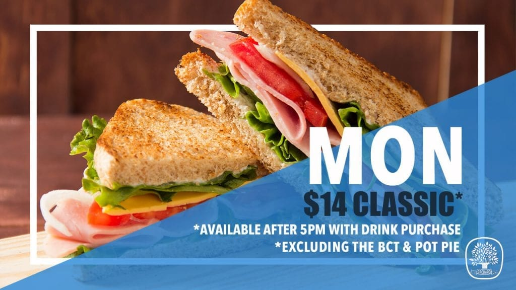 Orchard Special Monday Classic