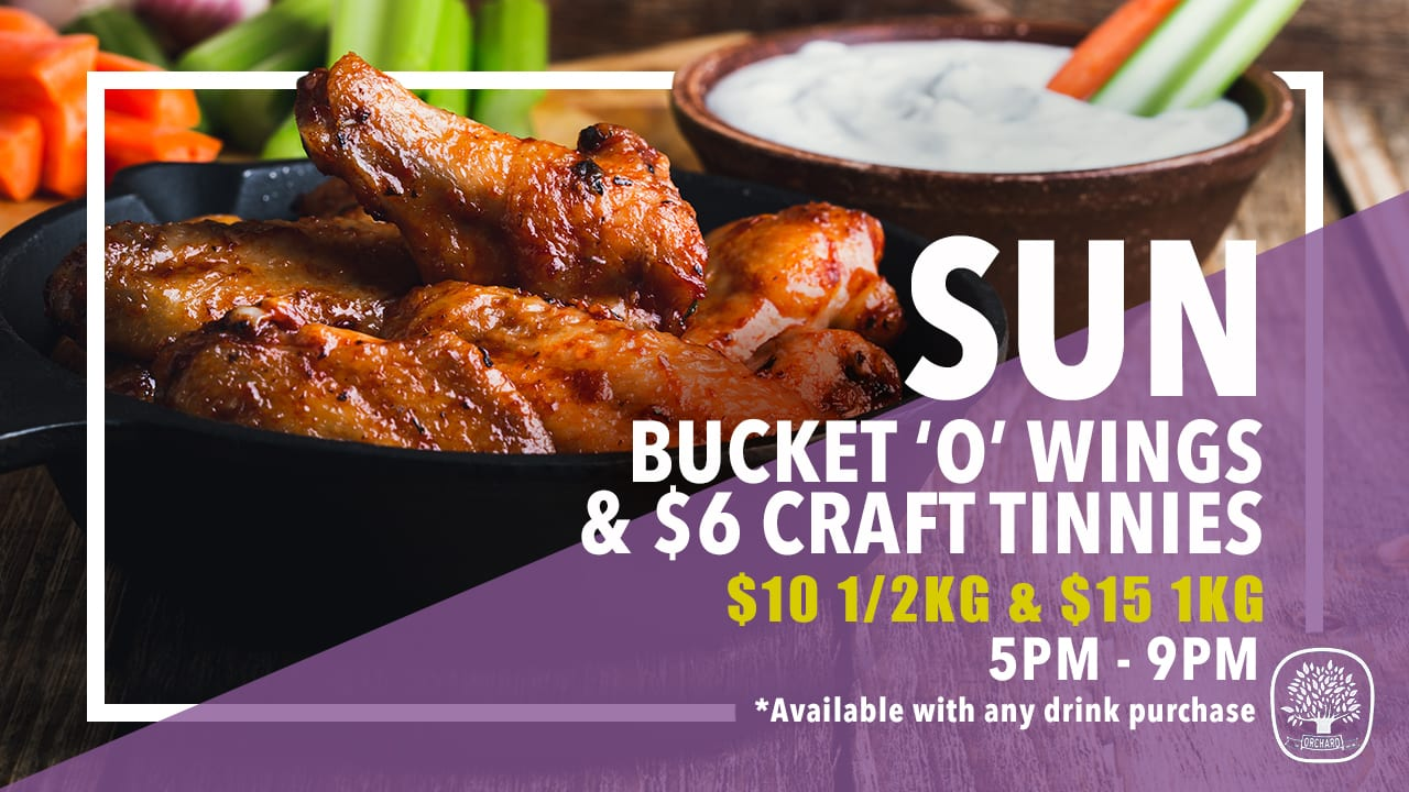 Weekly Meal Deals Sun Wings And Tinnies 2019 02 11