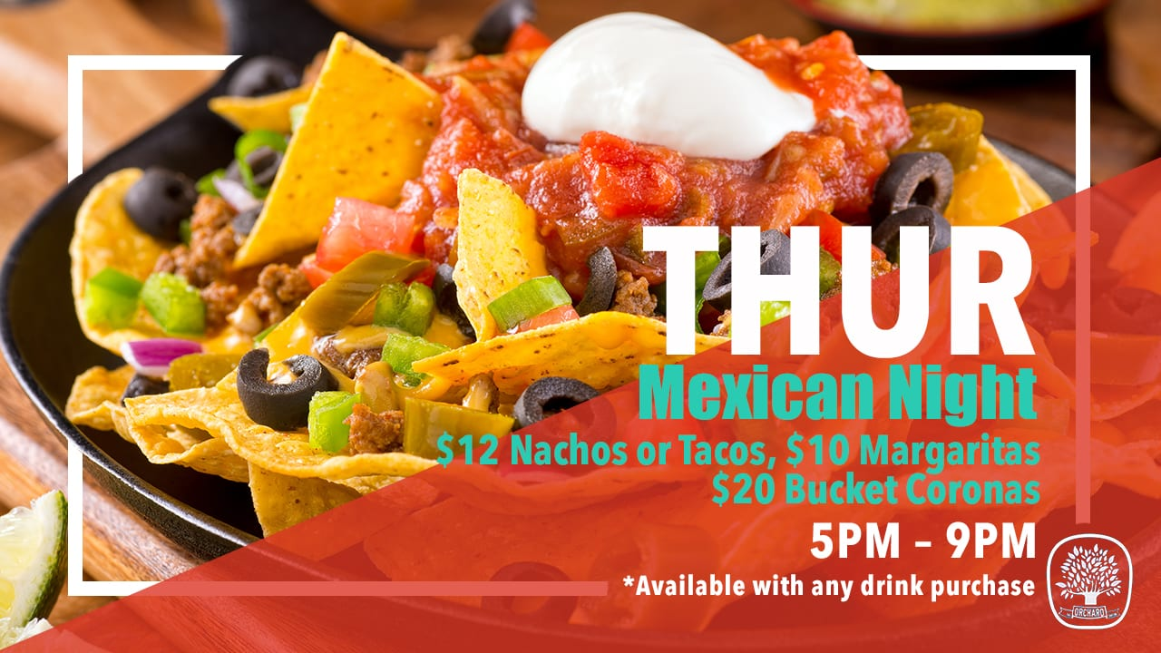 Weekly Meal Deals Thurs Mexican 2019 02 11