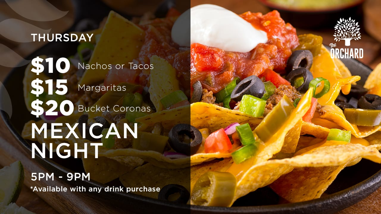 Weekly Meal Deals Thurs Mexican 2019 04 03