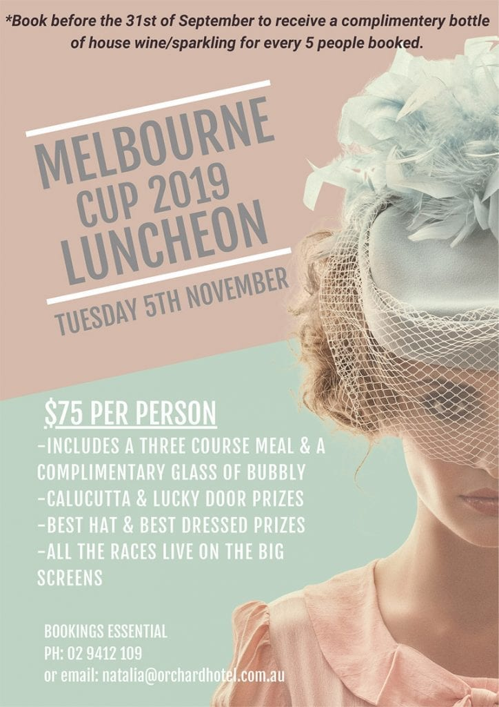 Melb Cup 2019