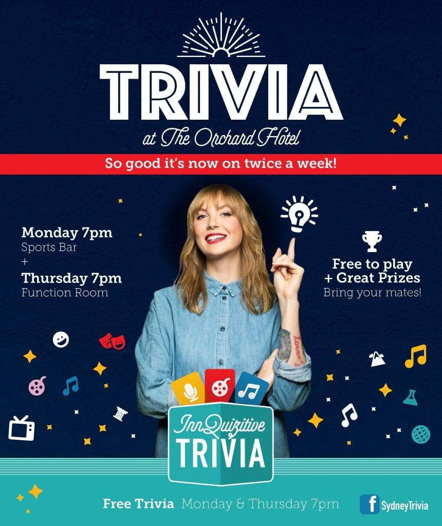Trivia Monday & Thursday